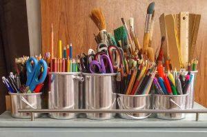 How to Organize Your Craft Closet