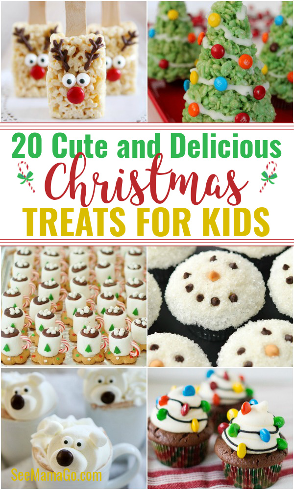 20 Fun and Delicious Christmas treats for kids