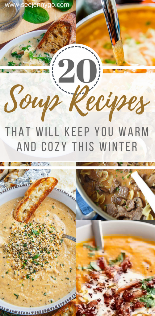 soup recipes for fall, new and unique soup recipes for your crockpot and fall dishes #soup #fall #recipes #cooking #new #unique