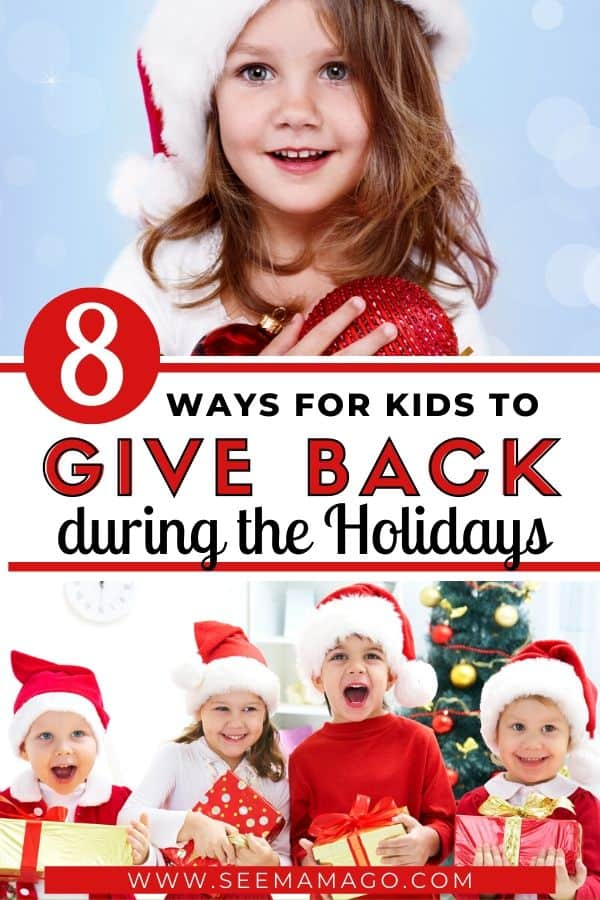 kids giving back, Holidays, charity