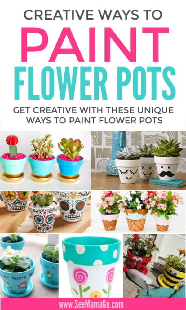 Fun and Creative Ways to Paint Flower Pots