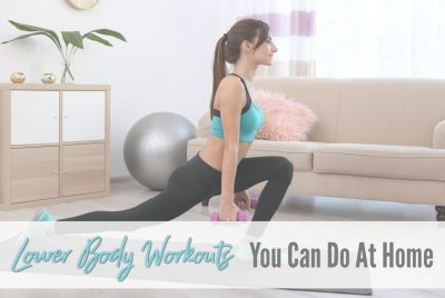 Lower body workouts you can do at home