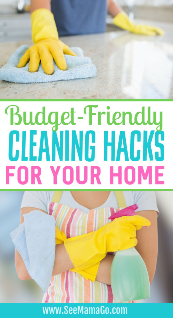 budget-friendly cleaning hacks