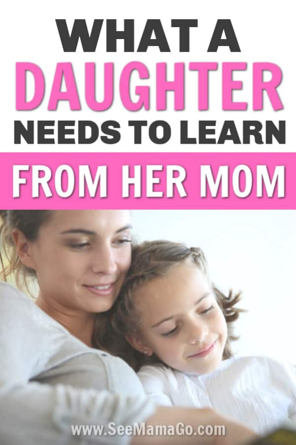 Skills Your Daughter Should Know