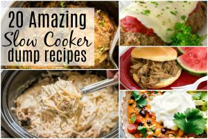 slow cooker dump recipes crock pot meal ideas for beginners, Easy instant pot dump ideas