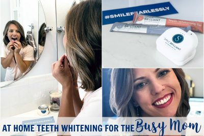 smile brilliant at home teeth whitening