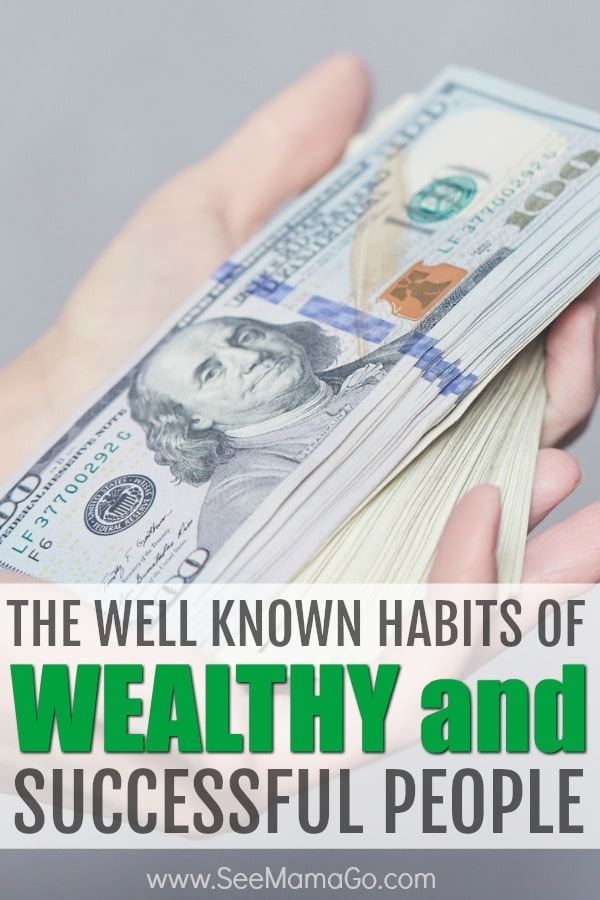habits of wealthy people, traits of successful people #wealthy #successful #habits #financialplanning #growingwealth #savingmoney #money #planning