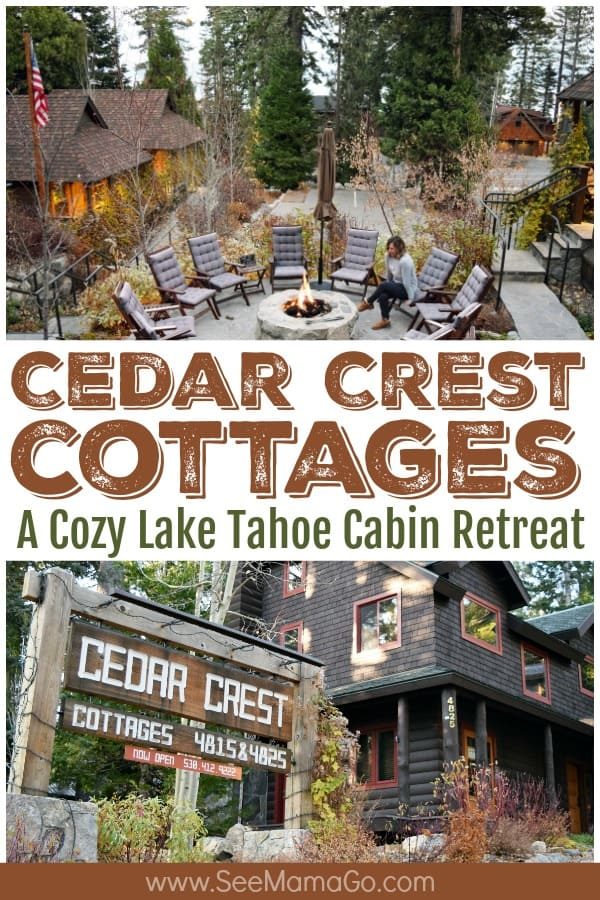 Cedar Crest Cottages, Lake Tahoe cabin