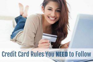 credit card rules to follow