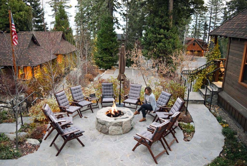 Lake Tahoe cabin, cedar crest cottages