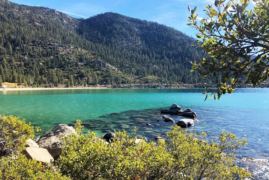 visiting north Lake Tahoe
