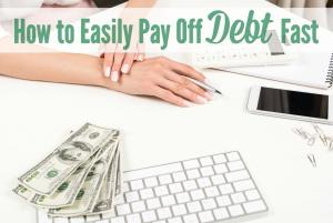 how to pay off debt