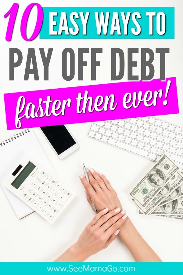 how to pay off debt - how to get out of debt fast #debt #finance #bills #budget #howto #savings #ideas #tips #hacks