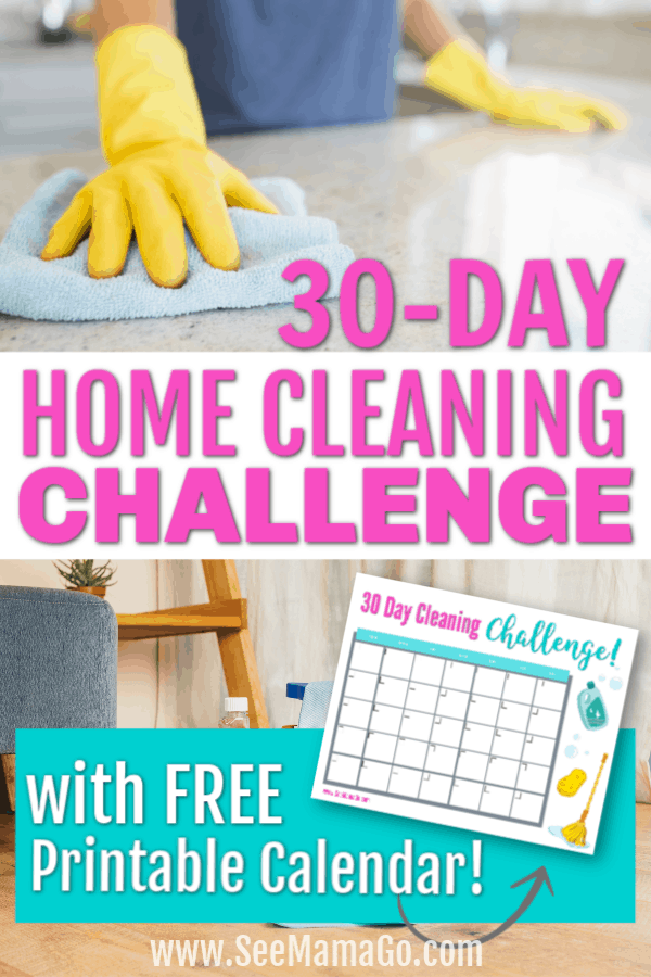 30-Day Home Cleaning Challenge