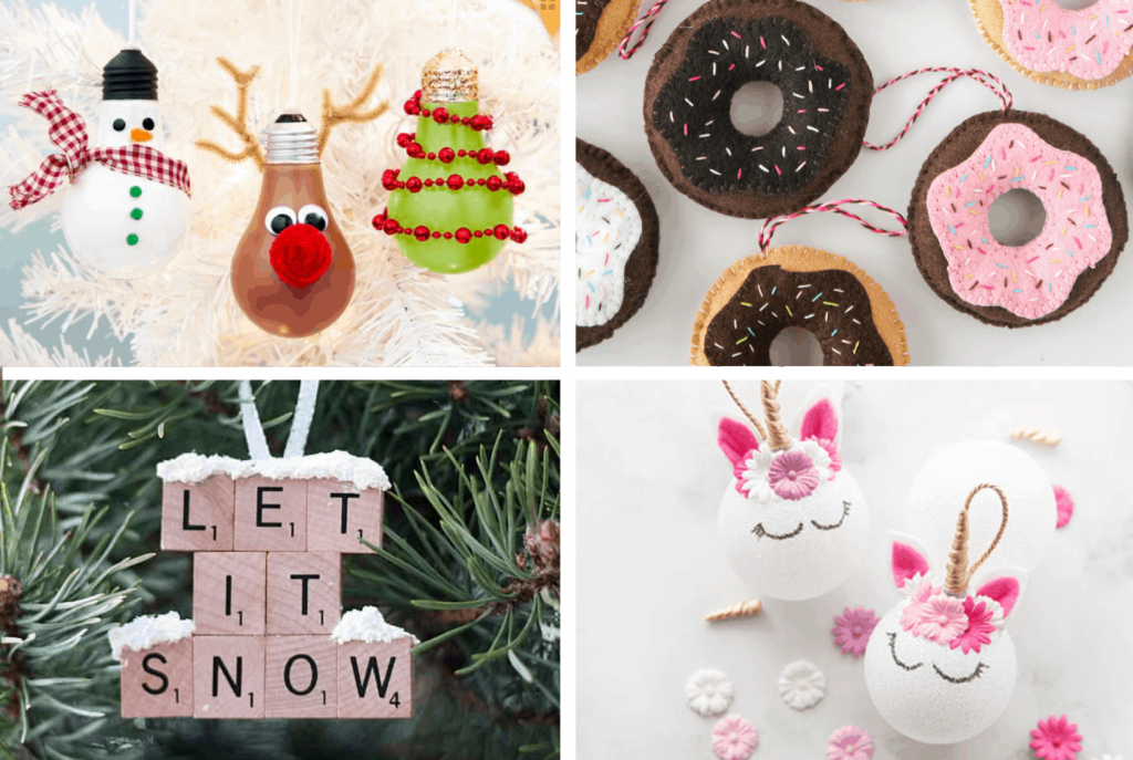 Easy Diy Christmas Ornaments For Kids See Mama Go