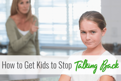 how to stop kids from back talking. Why does my child talk back? Techniques that work