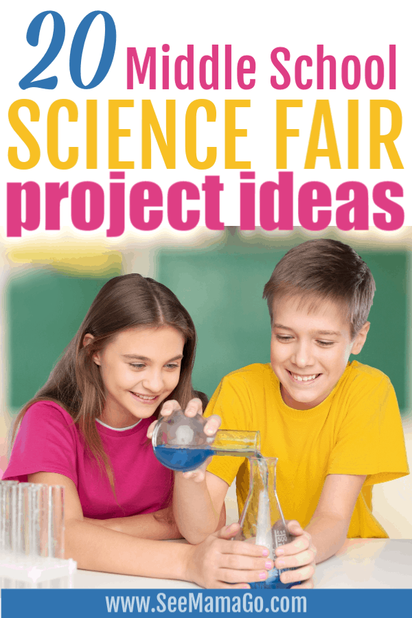middle school science fair project ideas. Fun and easy experiment ideas for school.
