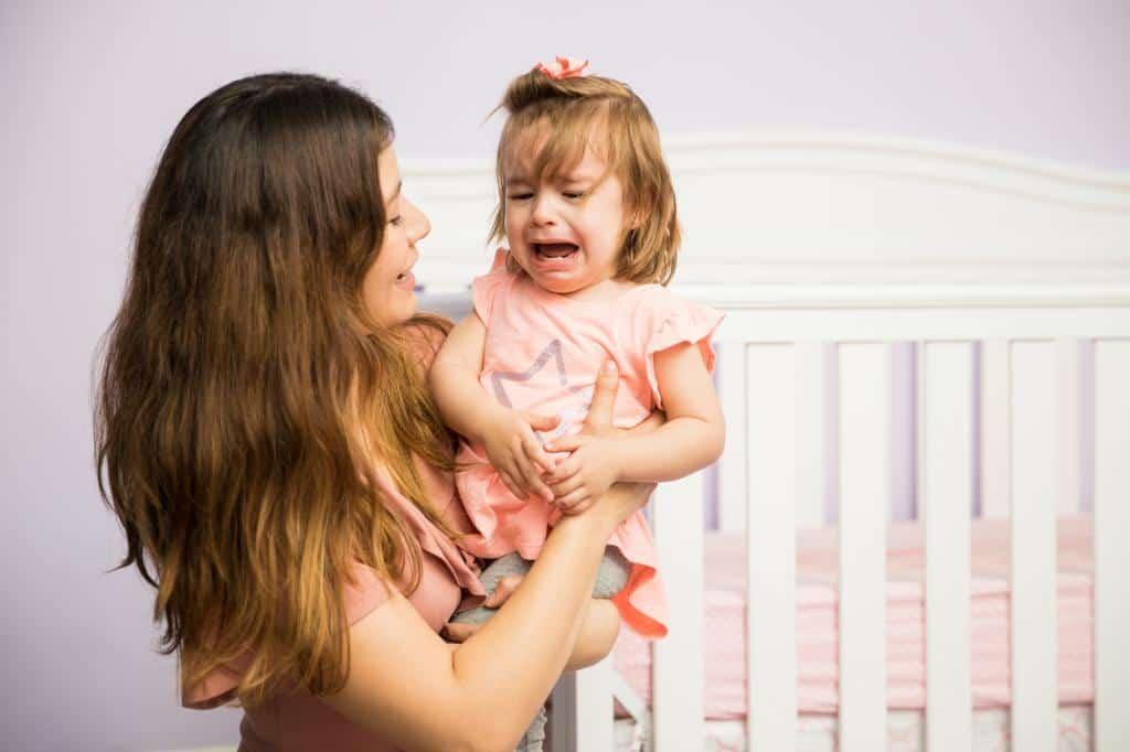 how to calm a temper tantrum