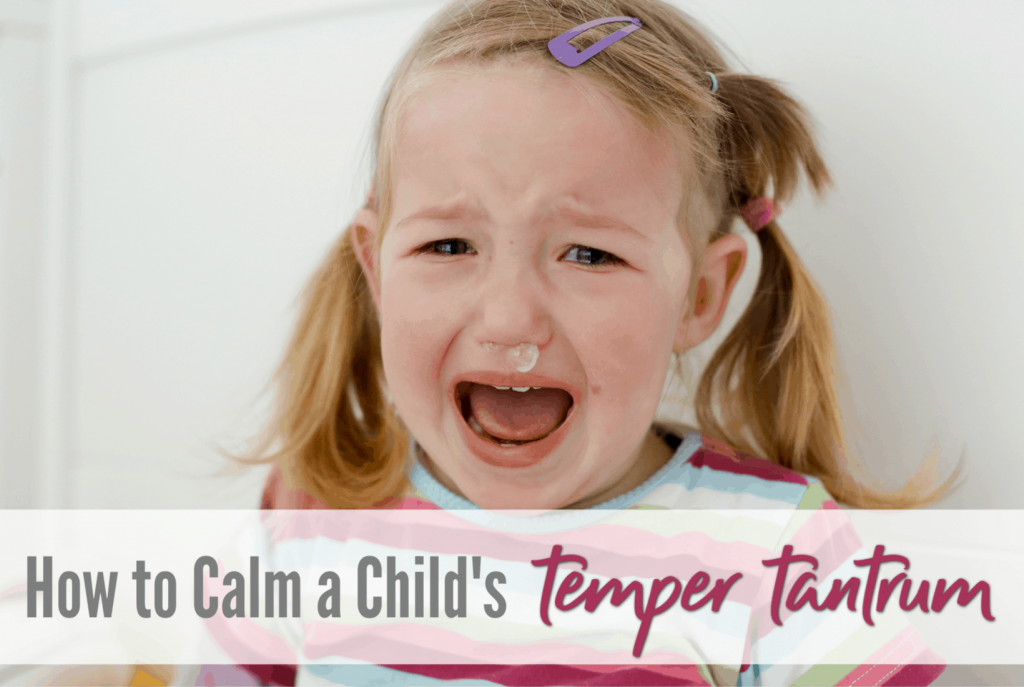 tips and tricks to stopping a temper tantrum in toddlers