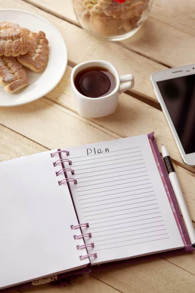 productivity, planning, organization