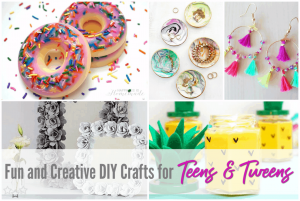 Fun and creative DIY crafts for teens and tweens