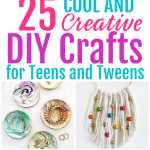 DIY crafts for teens and tweens