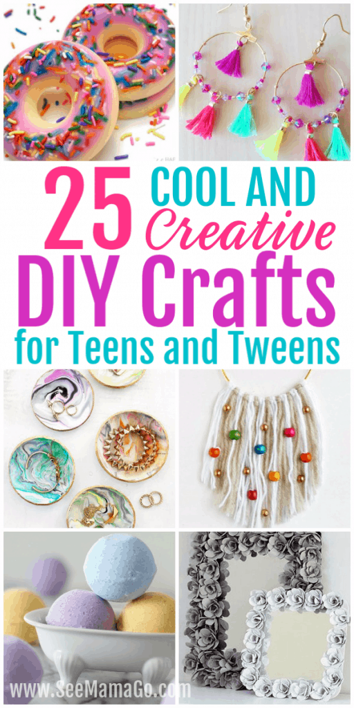 25 Cool And Creative Diy Crafts For Teens And Tweens See
