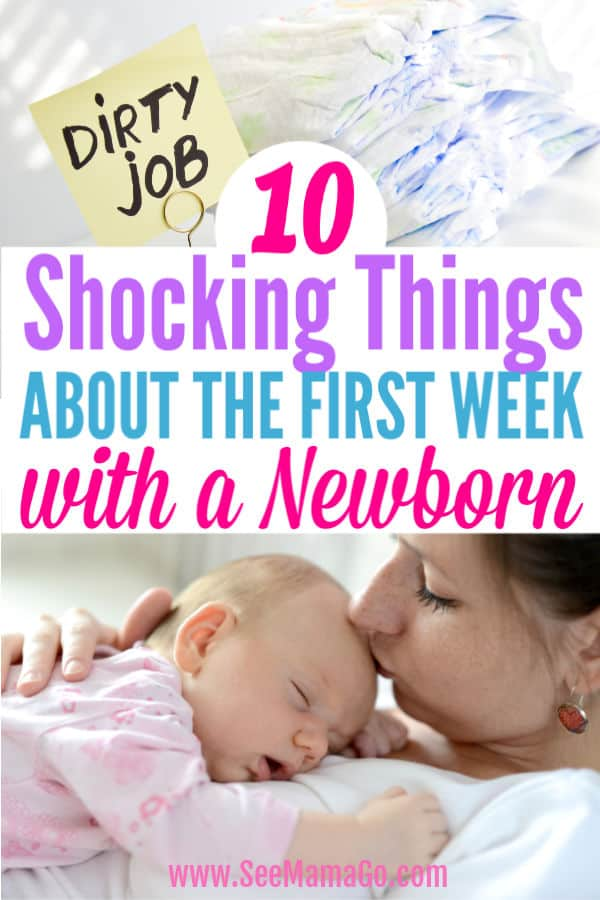 first week home with a newborn