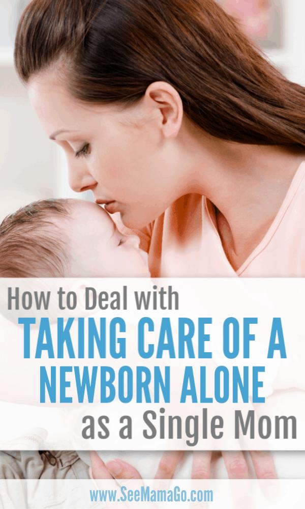 newborn care, single mom