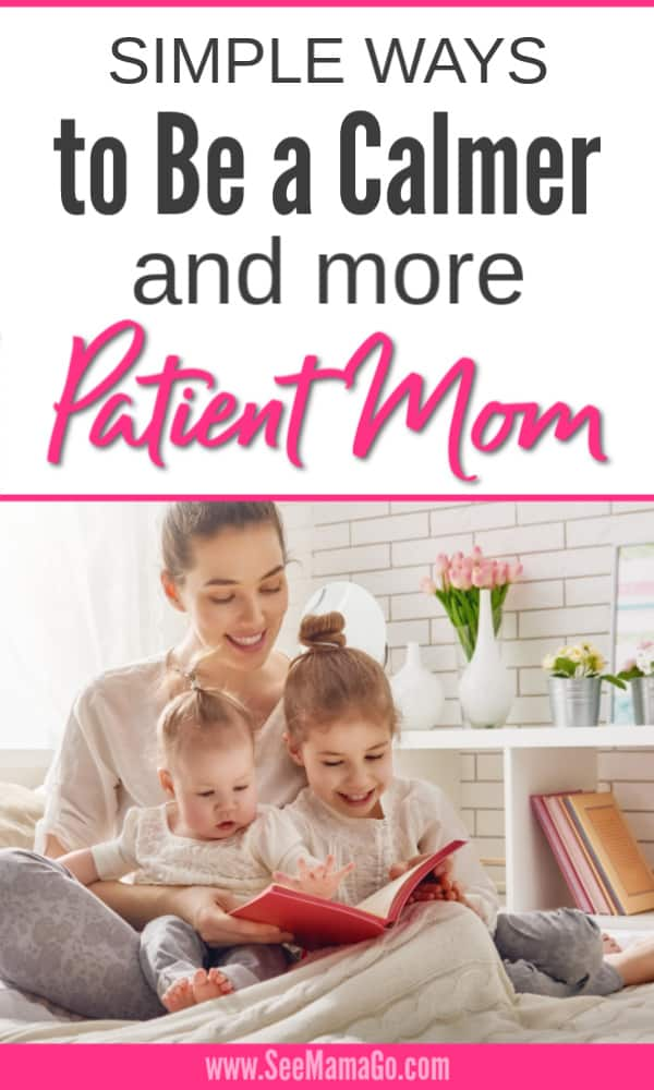 patient parent, calm mom
