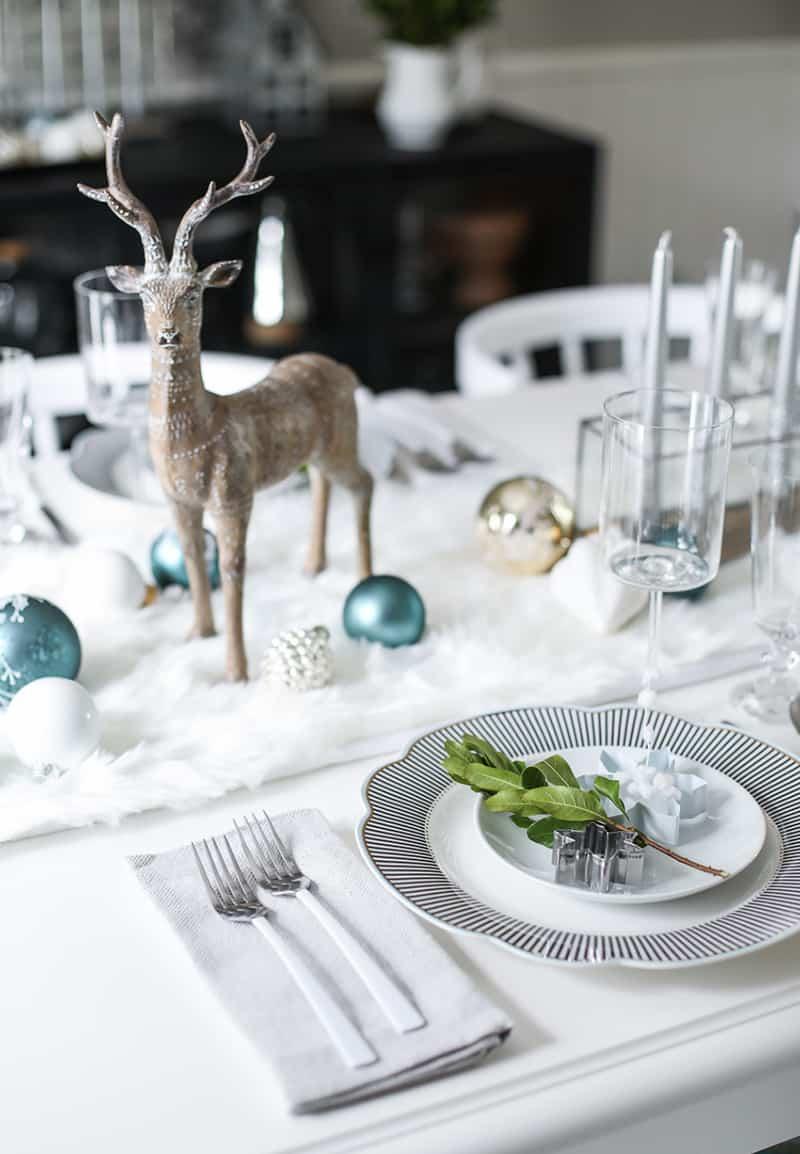 Christmas Table Setting Ideas