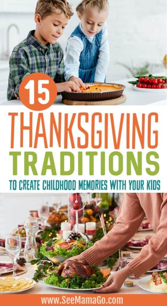 Thanksgiving tradition ideas
