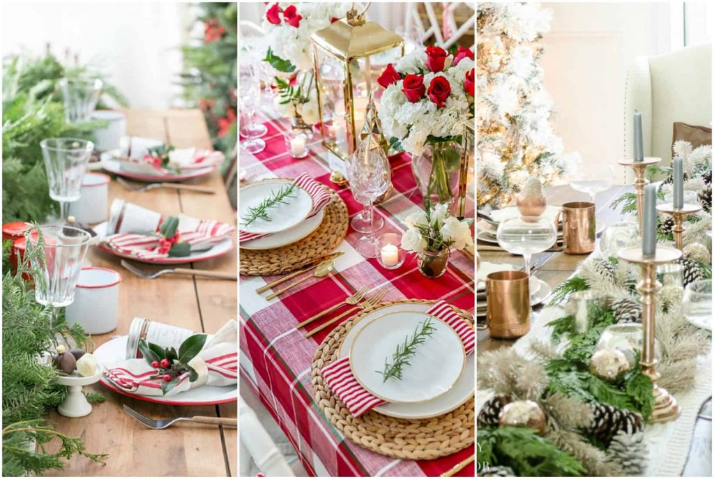 22 Inspiring DIY Christmas Table Setting Ideas - See Mama Go - photo#22
