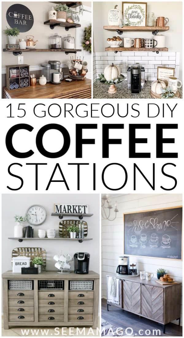 coffee Stations, DIY, home,