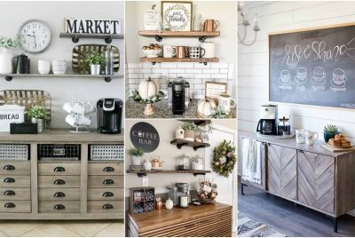 DIY Coffee stations
