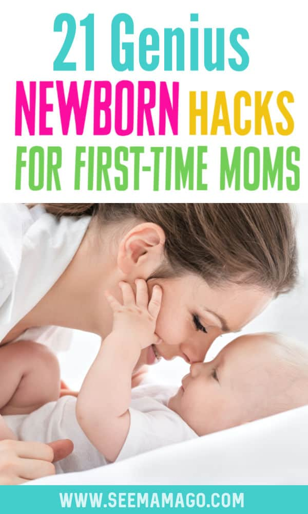 21 Newborn Hacks For First-Time Moms