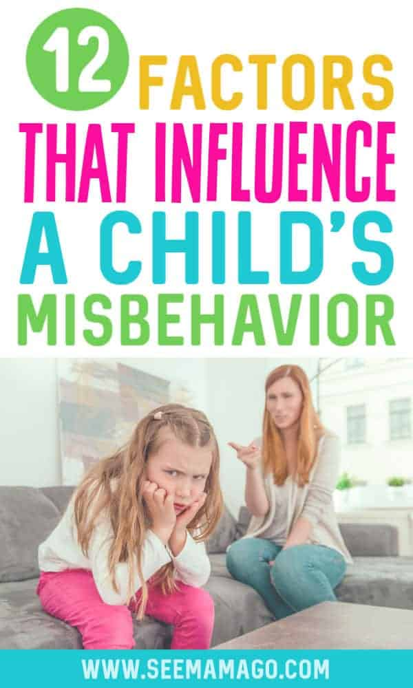 factors that influence a child's behavior