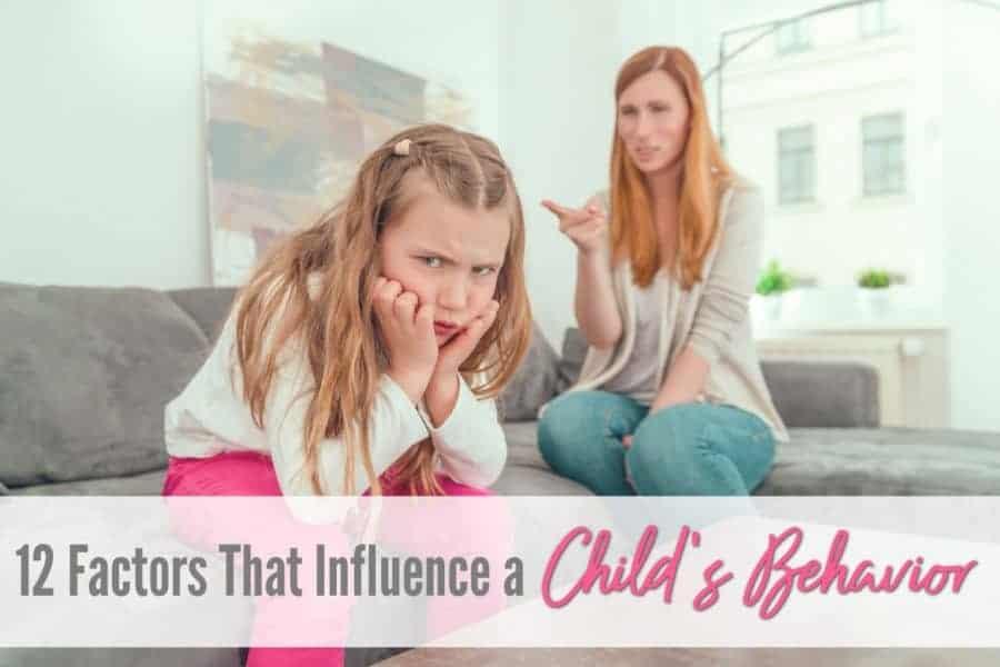 factors that influence a child's behavior