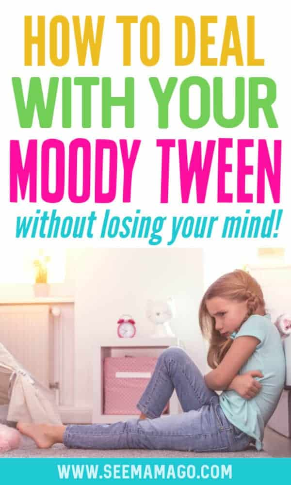 Moody tween, moody preteen