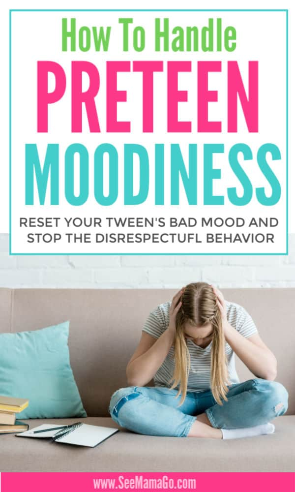 How to Handle Preteen Moodiness