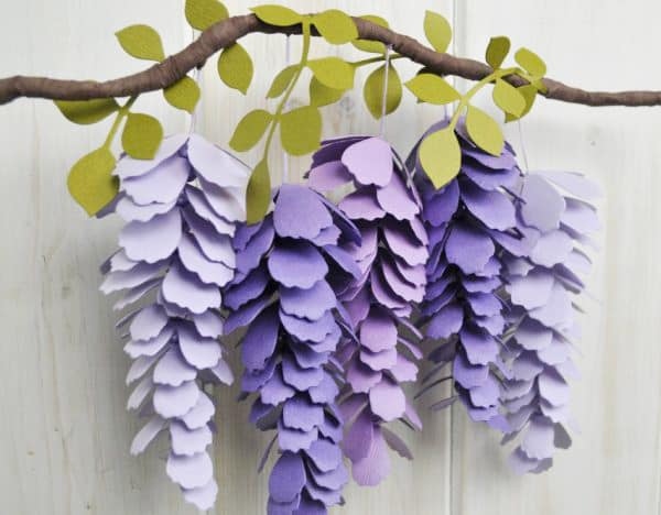 how to make paper flowers at hoome