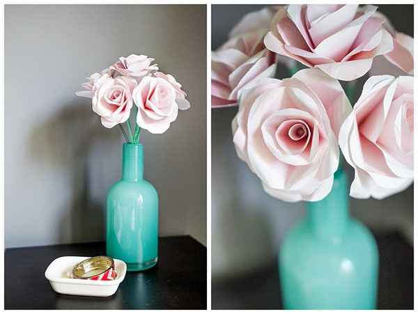 step by step tutorial how to make paper flowers at home