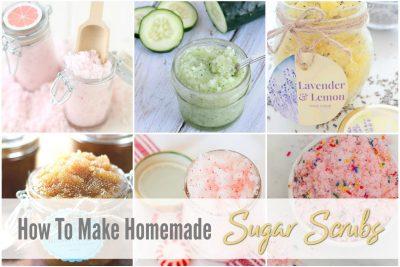 How to Make Homemade sugar Scrubs