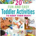 Fun and easy activities for toddlers