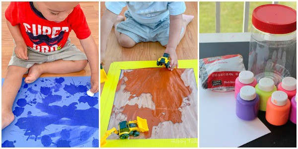 Toddler activities to keep them busy