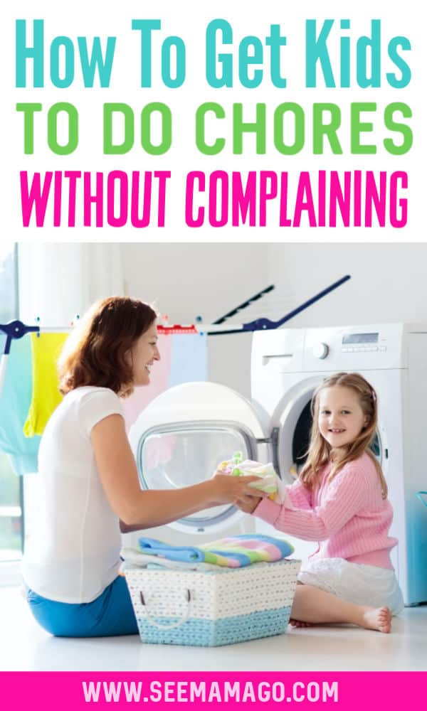 getting kids to do chores without nagging them