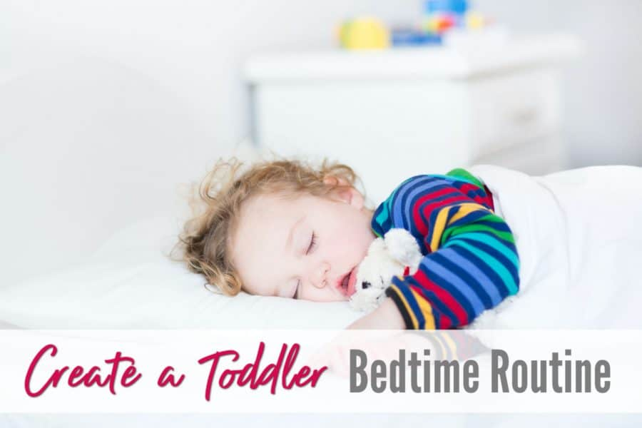 How to Create a Bedtime Routine For Toddlers