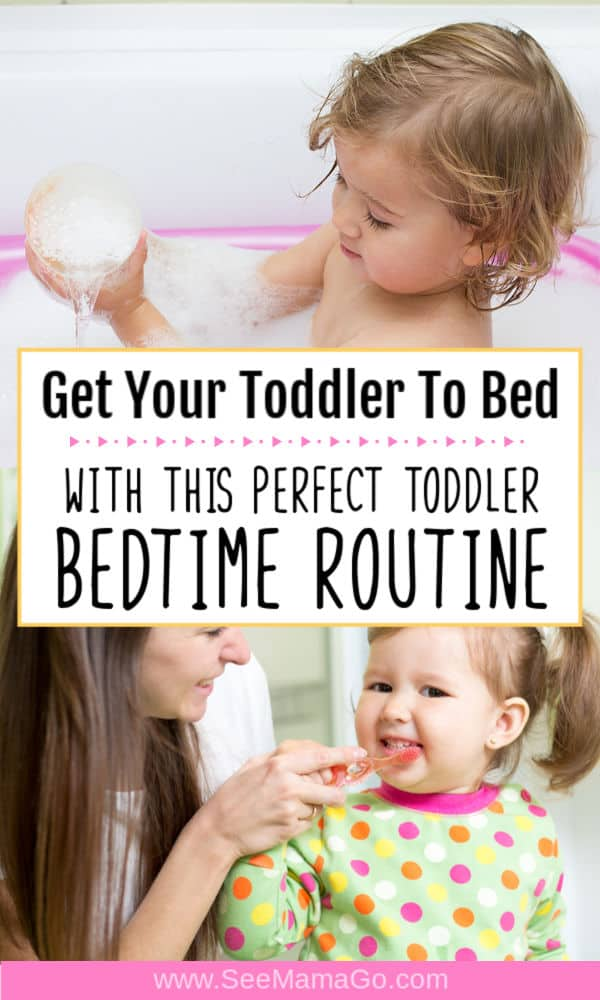 The Perfect Toddler Bedtime Routine for Easy Nights