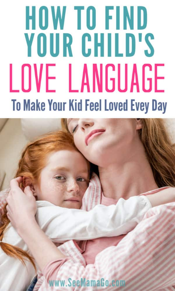How To Find Your Child's Love Language to make them feel special