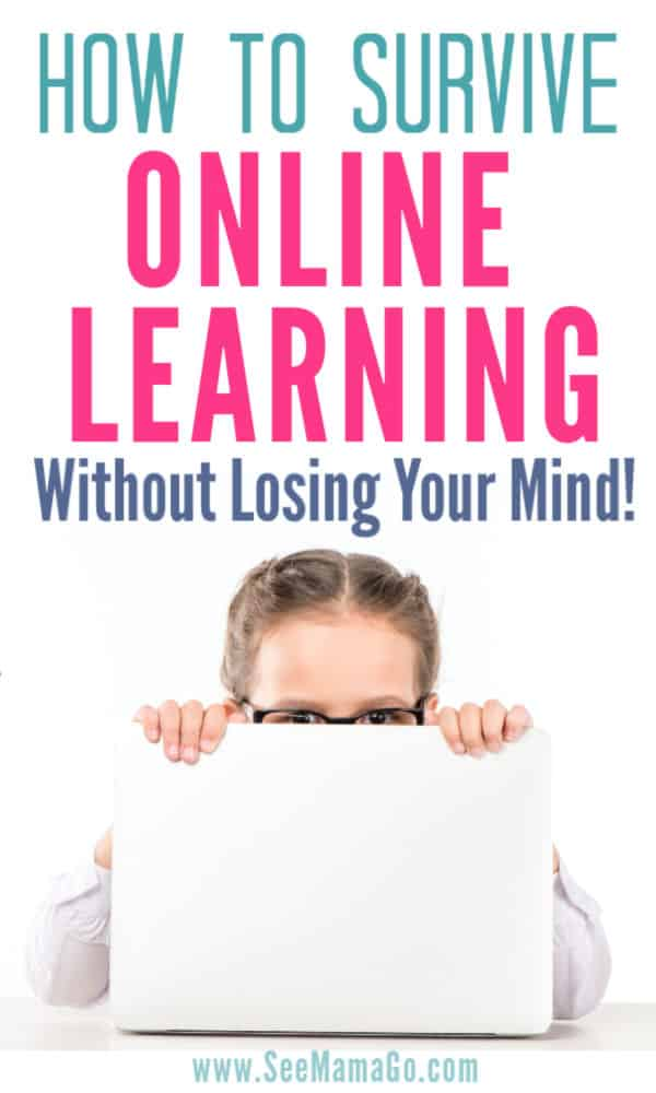 Survive online learning with your kids
